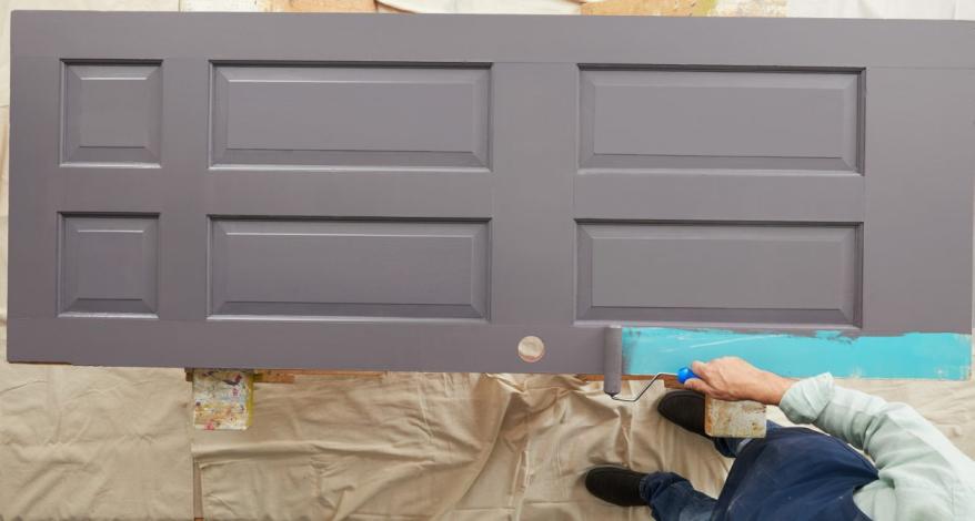 Hoe een deur schilderen