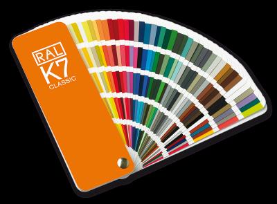 wat zijn ral-kleuren?